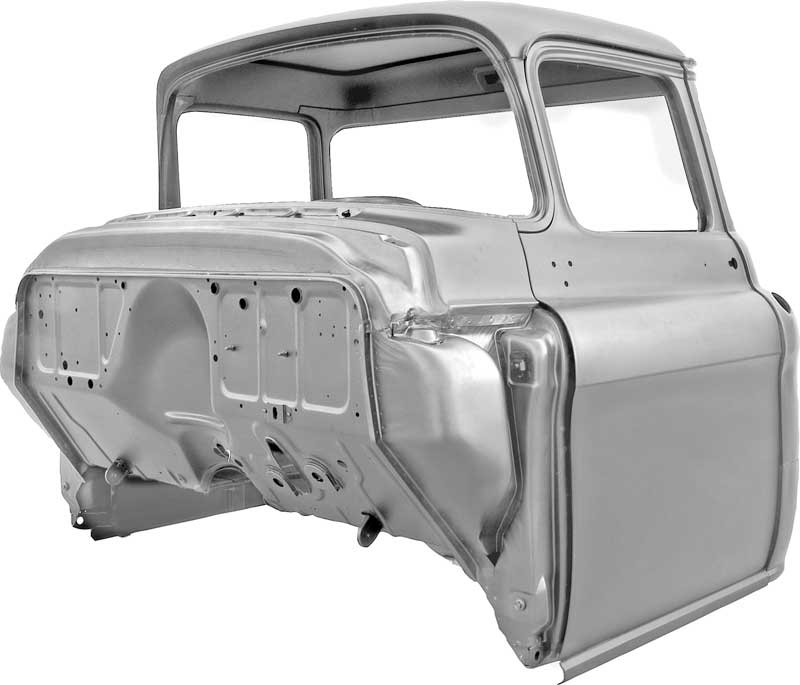19551957 Chevrolet Pickup Truck Cab Assembly Chevy Truckrhtuckersparts: Replacement Radio 55 Chevy Truck At Gmaili.net