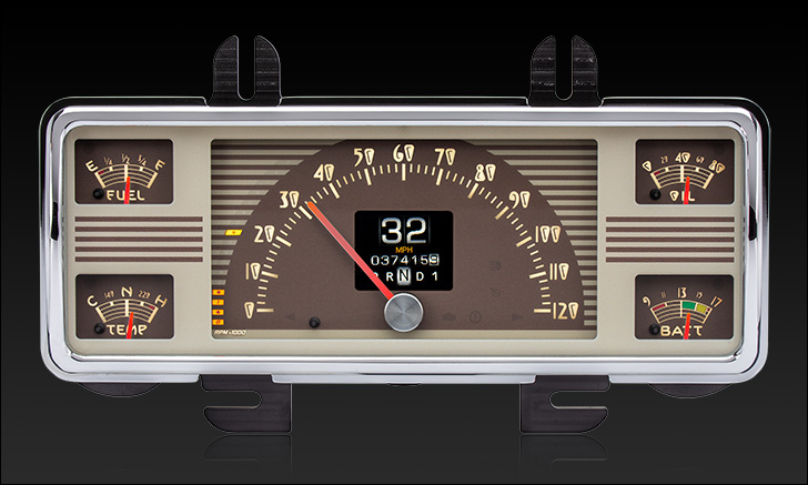 1940 Ford Car & 1940-1947 Ford Truck RTX Instrument Gauge Cluster