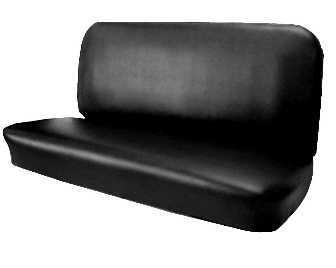 1955 2nd-1959 Bench Seat Cover Black