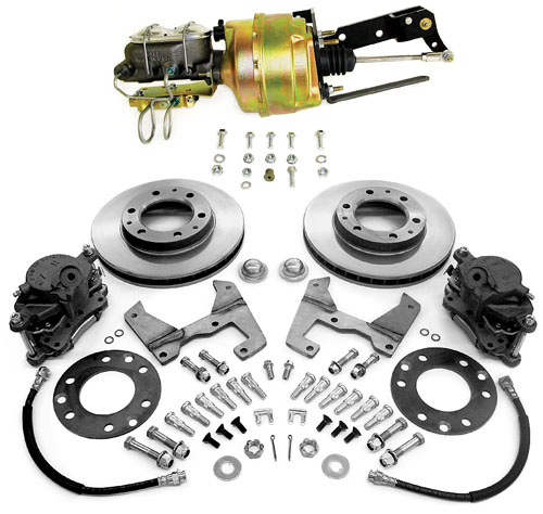 1947-1959 GM Truck Power Disc Brake Conversion Kit - GM Truck