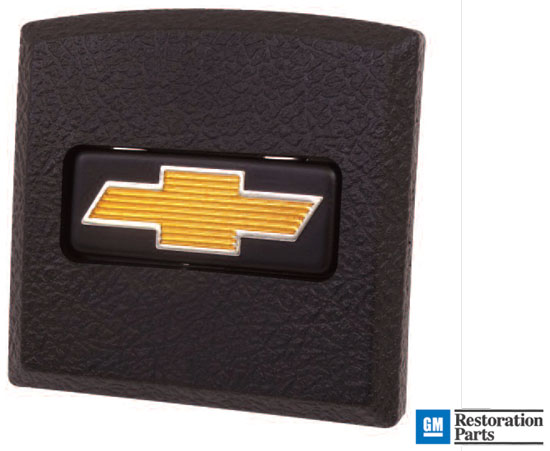 1973-1977 Chevrolet Pickup Truck Horn Cap with Gold Bowtie