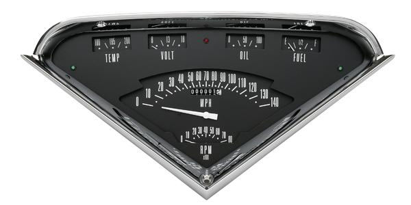 1955-1959 Tach-Force Gauge Cluster - Chevy Truck