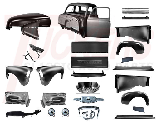 1947-1954 Chevy & GMC Truck Parts