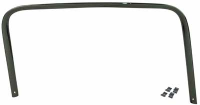 55-59 Left Hand, Driver Side Upper Door Frame Molding, Chrome
