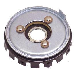 Horn contact plate
