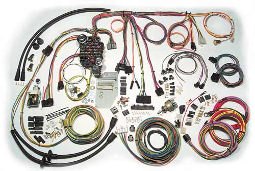 Classic Update 05 510089 complete wiring harness for 1967 chevy truck at gsmportal.co
