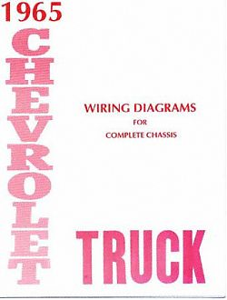 1965 wiring diagram booklet chevy truck asfbconference2016 Gallery