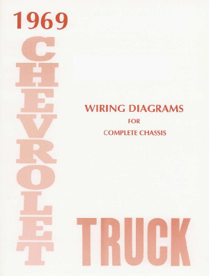 1969 Wiring Diagram Booklet - GM Truck on