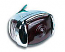 1947-1953 Chevrolet & GMC Tail Light Assembly, Polished Stainless with Blue Dot (Passenger Side) - GM Truck