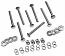 1967-1972 Front Bed Panel Bolt Kit - GM Truck