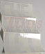 1967-1972 Fleetside Tailgate White Letter Decals - Chevy Truck