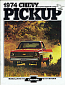 1974 Sales Brochure Reproduction Of Original - Chevy Truck