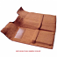 1967-1972 Carpet Kit  Lite Saddle High Hump Transmission