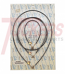 1964-1966 Heater Control Cables - GM Truck