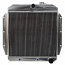 1955 2ND-1959 Aluminum, Heavy Duty, With Electric Fan with Shroud - Chevy