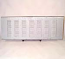 1954-1987 Tailgate Cover Stepside 7 Rows Of Louvers - GM Truck