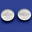 1967-1987 Aluminum Bed Hole Plugs - GM Truck