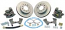 "1947-1972 Disc Brake Rear Kit 1/2"" Flange - Chevy/GM Truck"