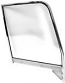 1955-1959 Complete Chrome Door Glass Assembly LH (Clear)