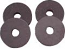1955-1966 Radiator Supports Mount Pads
