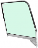 1955-1959 Chevrolet & GMC Pickup Truck Door Glass Assembly, Green