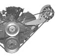 Altenator Engine Bracket (LH) - GM Big Block