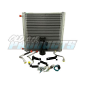 1947-1955 Chevrolet & GMC Truck A/C Condenser Kit - Passengers Side Compressor