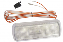 1960-1972 Chevrolet & GMC C10 Chrome Dome Light Assembly with Clear Lens and LED Bulb