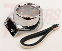 1967-1972 A/C Ball Outlet Housing Chrome Right - GM Truck