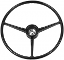 1967-1968 Steering Wheel Original Style Black - GM Truck