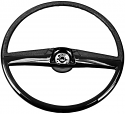 1969-1972 Steering Wheel Black Reproduction - GM Truck