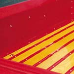 1967-1972 Bed Angle Strips Stepside SWB Steel Paintable Replacements - GM Truck