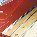 1947-1953 Bed Angle Strips Stainless (Polished) -GM Truck