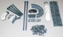 1955-1957 Complete Bed Bolt Kit (Polished) - GM Truck