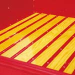 1947-1950 Bed Strip Set Steel Paintable - GM Truck