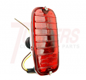 1962-1966 Chevrolet & GMC Truck Fleetside Tail Light Assembly Left Hand (Driver Side) - GM Truck