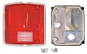 1973-1987 Chevy & GMC Pickup Truck Deluxe Taillight Assembly, Driver Side - GM Truck