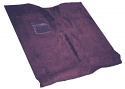 1967-1972  High Hump Transmission Carpet kit Gunmetal