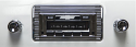 1947-1953 Chevy Truck Radio USA630 with CD Changer