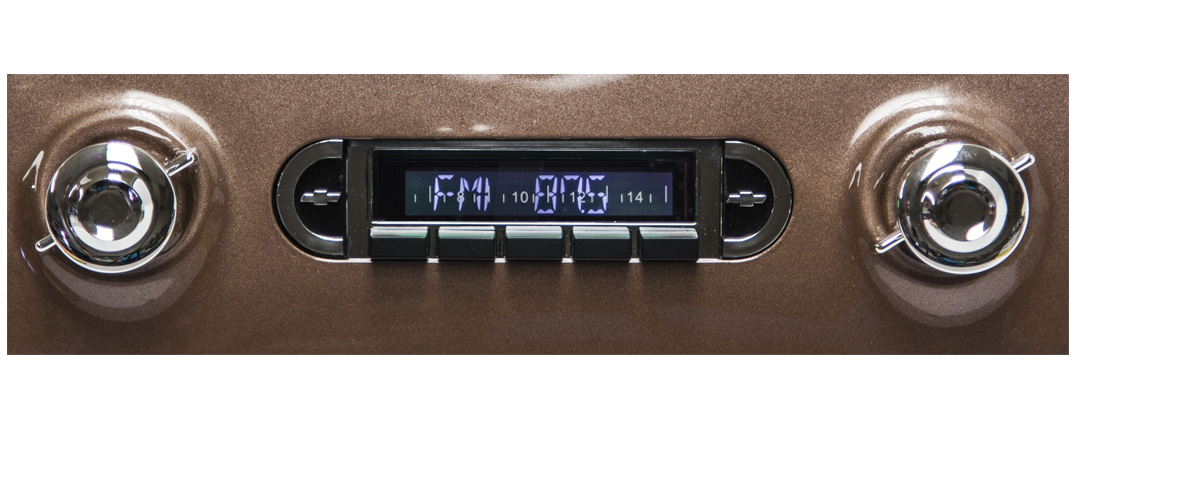 1955-1959 Chevy Truck Radio USA630 w/CD Changer