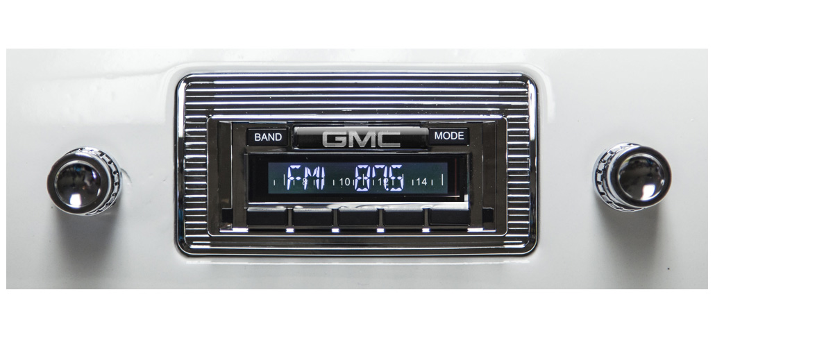 1947-1953 GMC Truck Radio USA630 w/CD Changer