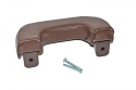 1947-1955 Arm Rest Deluxe with Hardware Brown - GM Truck