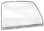1947-1950 Complete Chrome Door Glass Assembly LH (Clear)