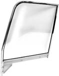 1945-1959 Complete Chrome Door Glass Assembly RH (Clear)