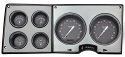 1973-1987 Silver Gray Dash Gauges Chevy/GMC Truck Package