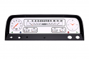 1964-1966 Chevrolet Pickup Truck White Gauge Package by Classic Instruments CT64W