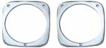 1964-1966 Headlight Bezels - Chevy Truck
