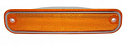 1973-1980 Side Marker Deluxe with Trim Original Style Front Right/Left Amber - Chevy/GMC Truck