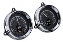1954-1955 1st Series Chevrolet & GMC Truck HDX Instrument Gauge Cluster - Black Alloy Face