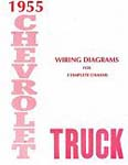 1955 Wiring Diagram Booklet - GM Truck